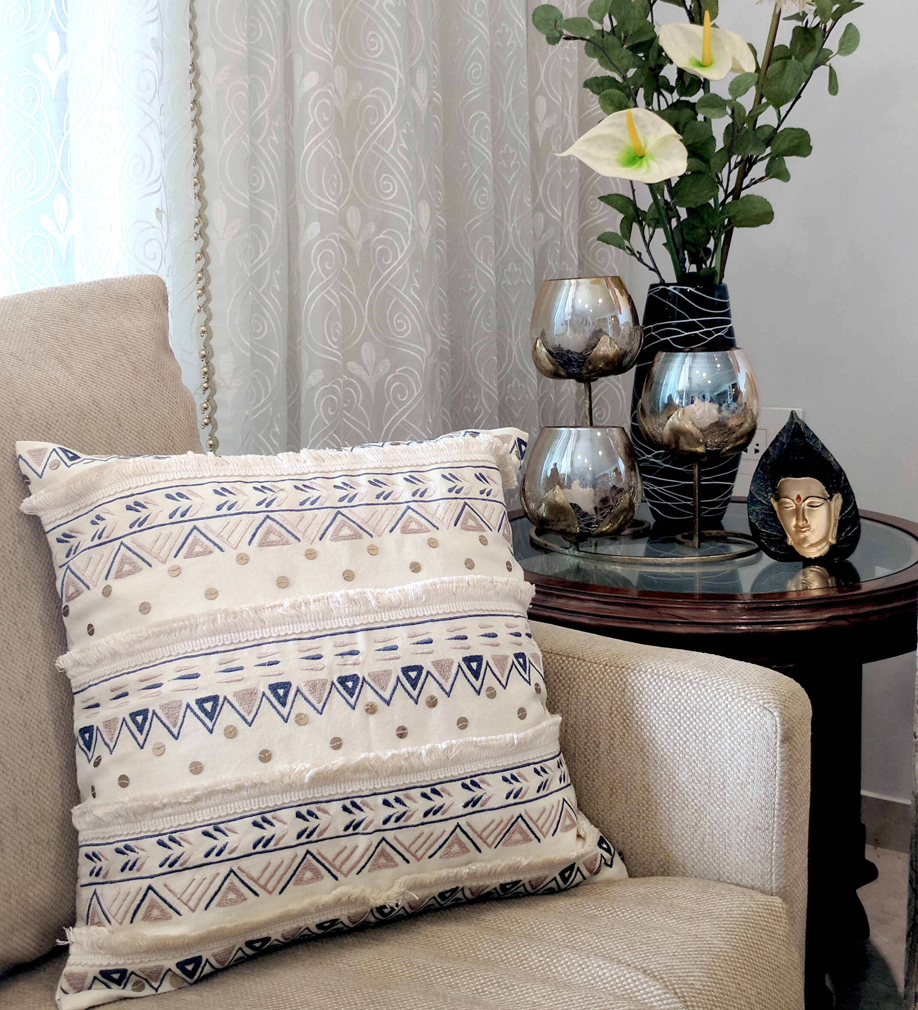Festival Special Sofa Styling With Cushions By Vliving