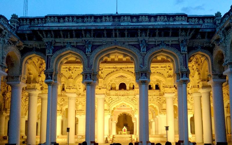 Thirumalai Nayakkar Palace Madurai 76 One Brick At A Time